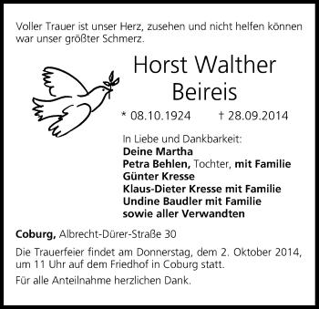 Zur Gedenkseite von Horst Walther