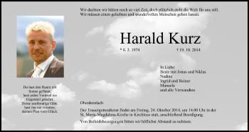Zur Gedenkseite von Harald