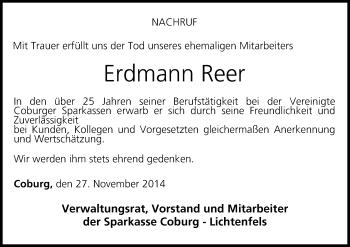 Zur Gedenkseite von Erdmann