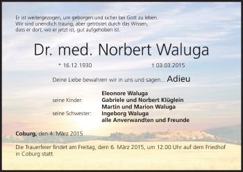 Zur Gedenkseite von Norbert